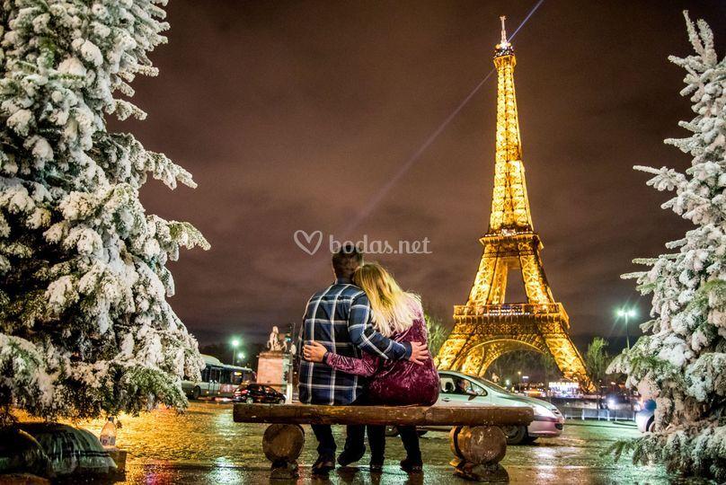 Pre-boda en París