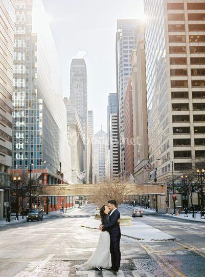 Postboda en Chicago