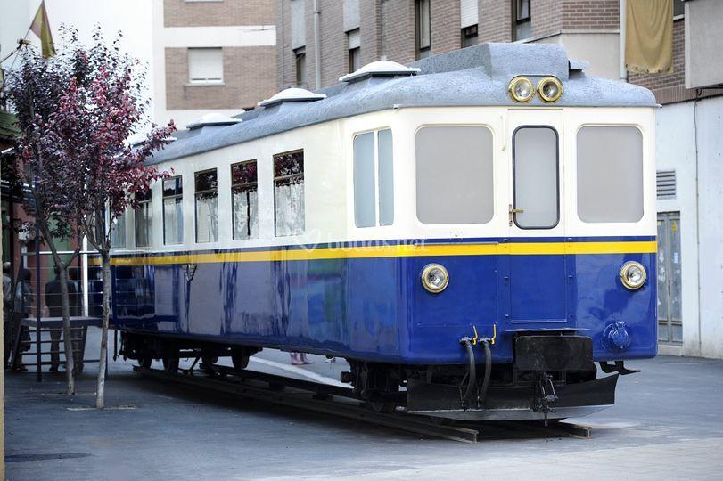 Vagón restaurado