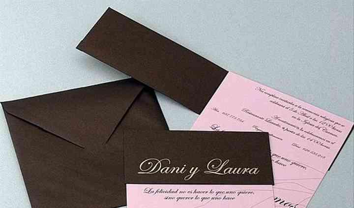 Invitaciones para parejas modernas