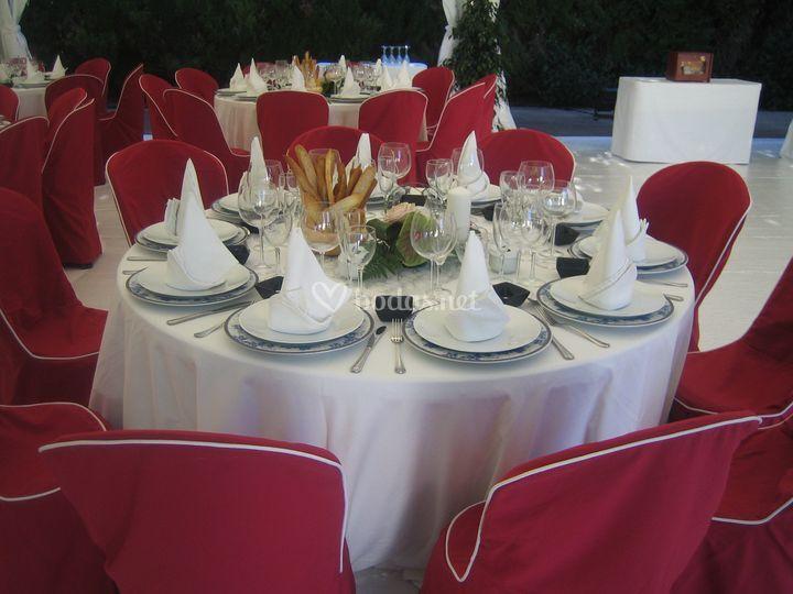 Detalles en mesa
