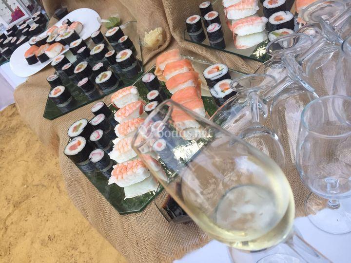 Mesa de sushi