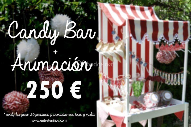Promoción Candy Bar/Animación