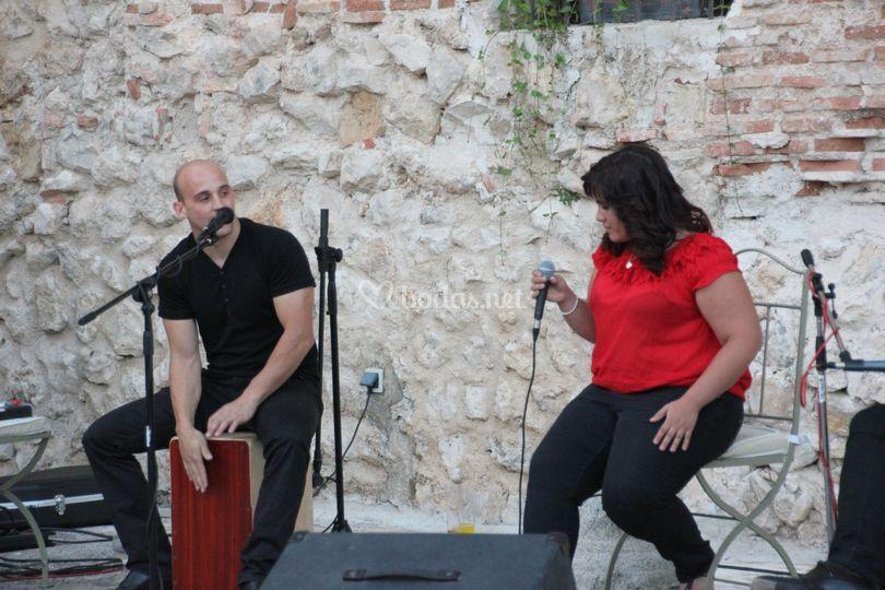 Cante flamenco en boda
