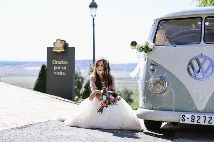Sesión con la novia