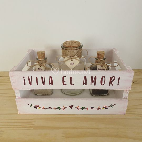 Ceremonia arena Viva el Amor