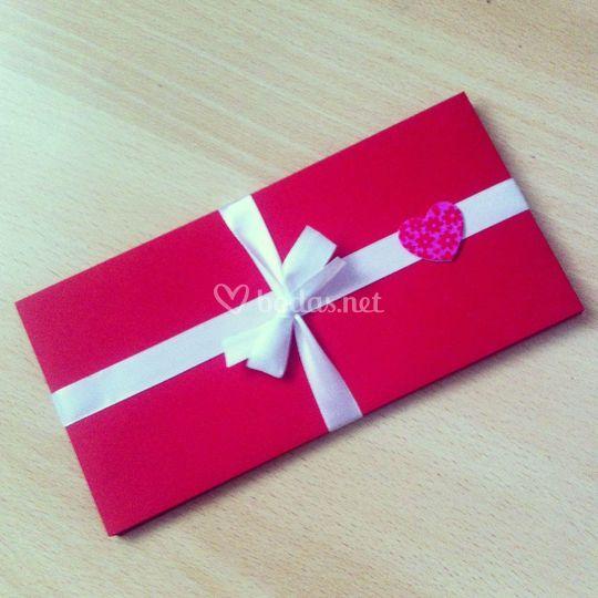 Packaging invitación de boda