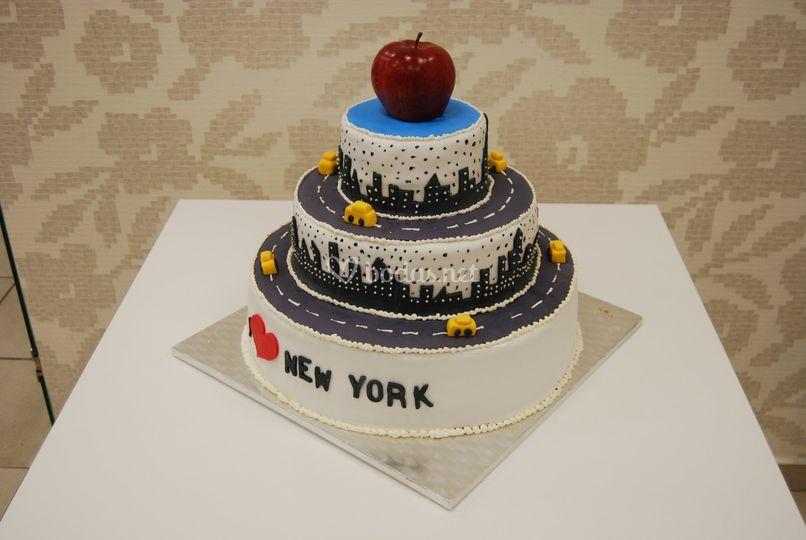 Tarta boda New York