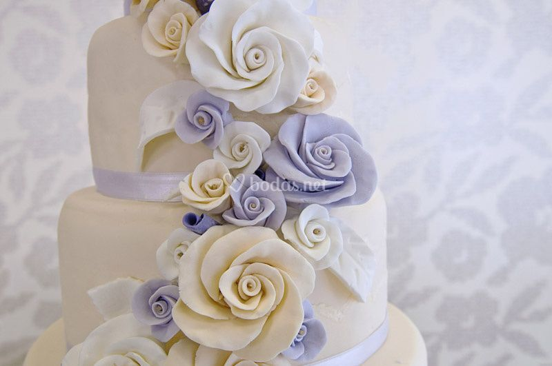 Detalle tarta boda