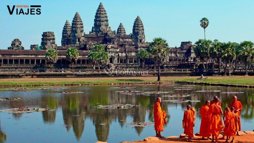 Viaje de Novios a Camboya