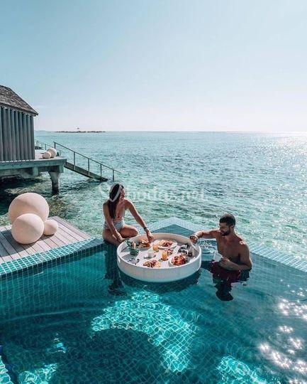Luna de Miel única Maldivas