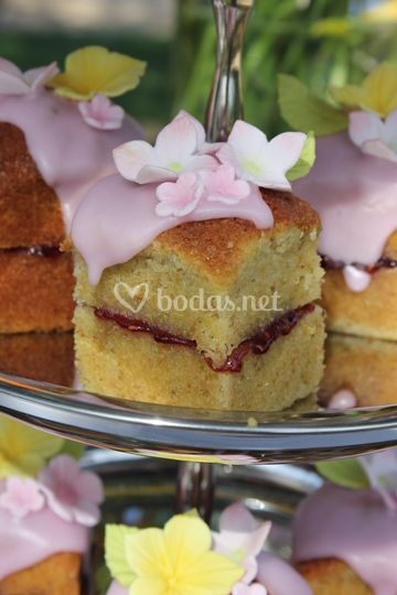 Mini tartas rústicas
