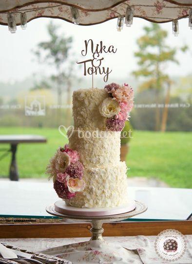 Coconut Wedding Cake