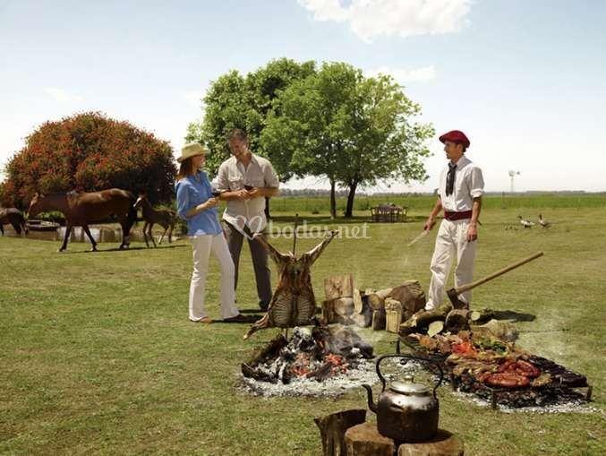 Gastronomía tradicional del país