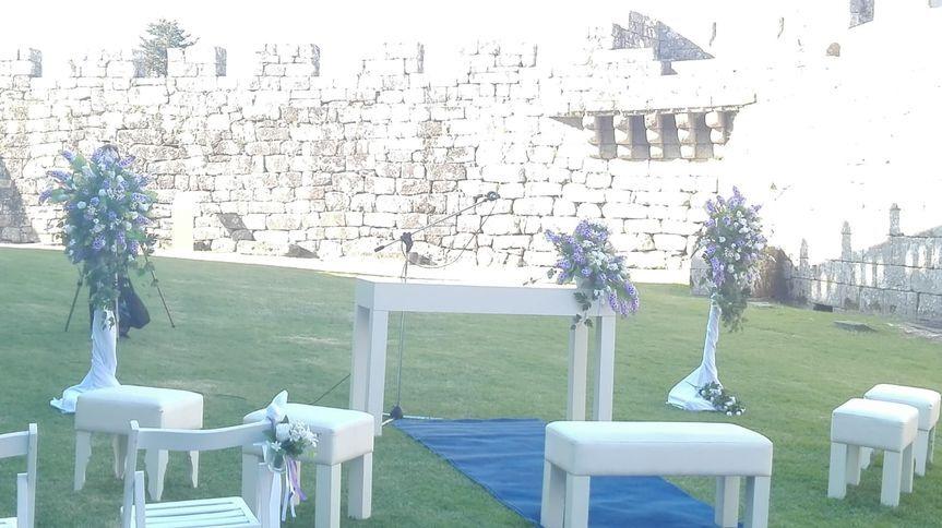 Ceremonia Castillo Sotomaior