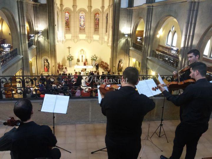 Boda religiosa en la Asunción