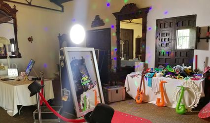 Magic Events Vip Espejo Mágico Fotomatón