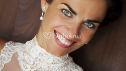 La dulce sonrisa de la novia