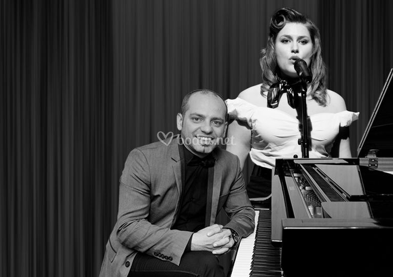 Cristian Leggiero y Paty Lesta