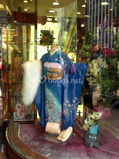 Tienda de kimonos