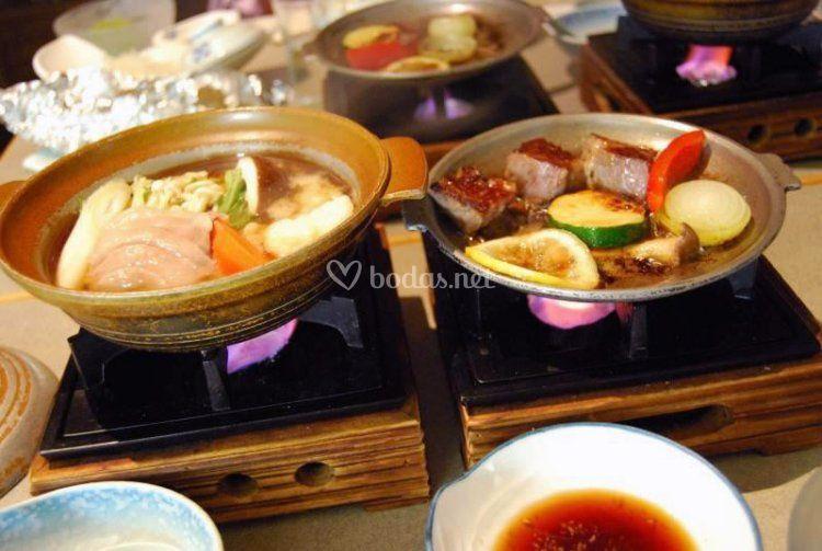 Gastronomía en Japón