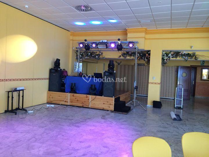 Montaje bodas y eventos 2015
