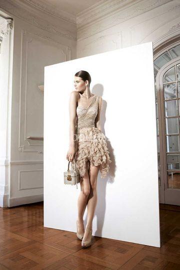 Vestido cóctel de Yolan Cris