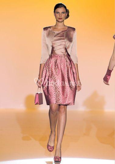 Vestido estructurado de Teresa Ripoll