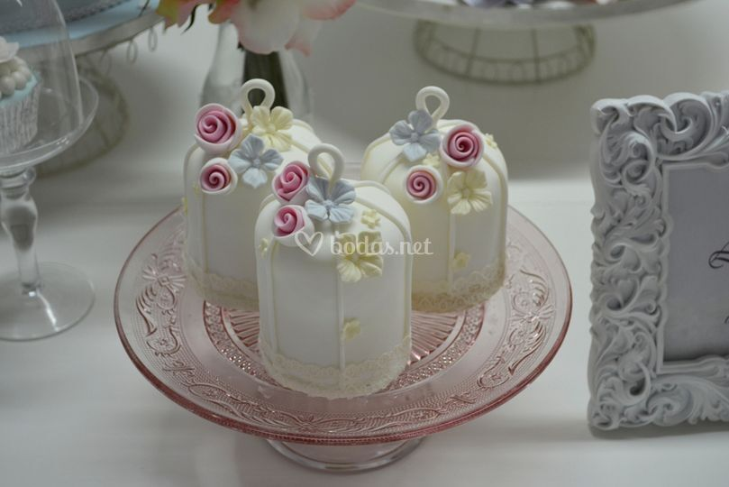 Pastelitos para bodas