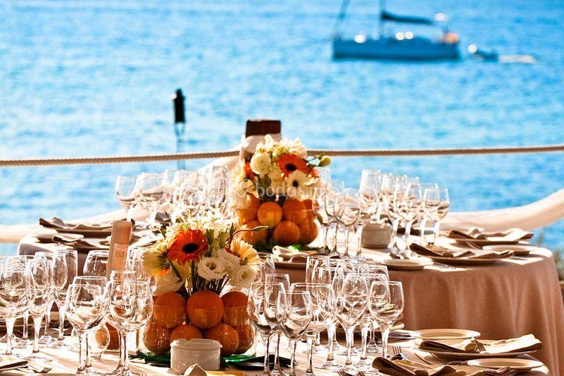 Tu evento frente al mar
