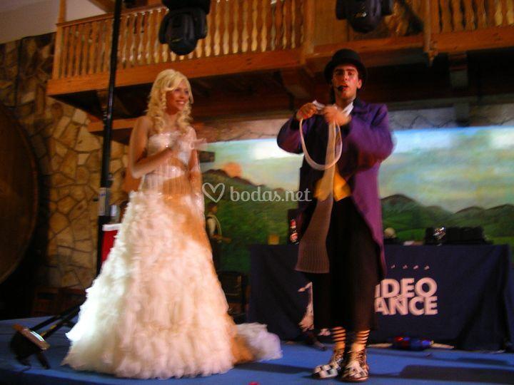 Espectáculos especiales para bodas