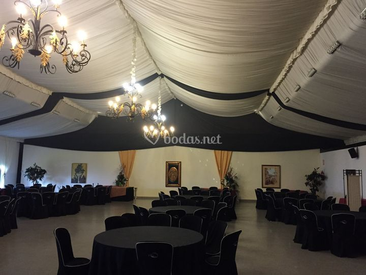Iddecora for Acuario salon de celebraciones