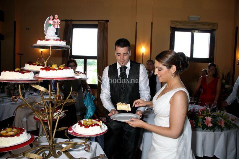 Corte de tarta