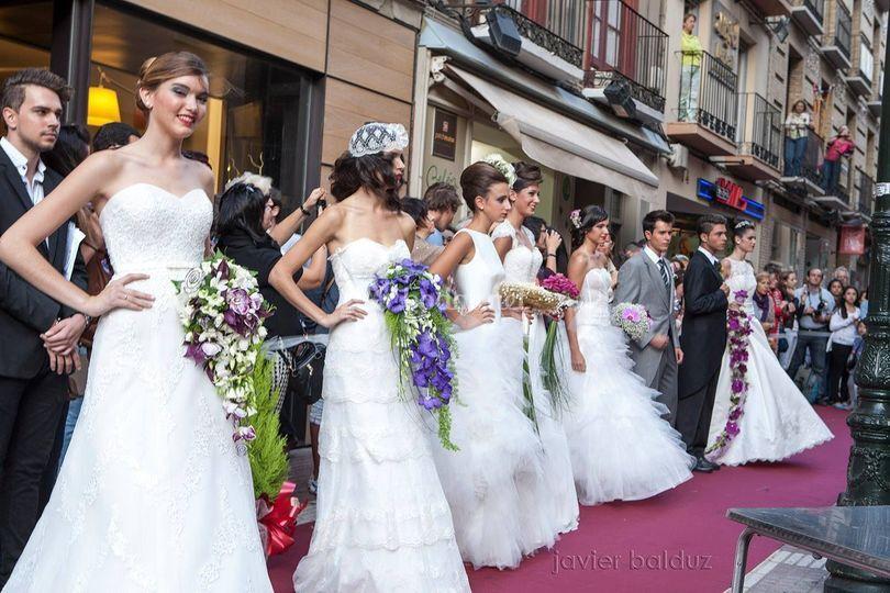 Desfile de ramos de novia