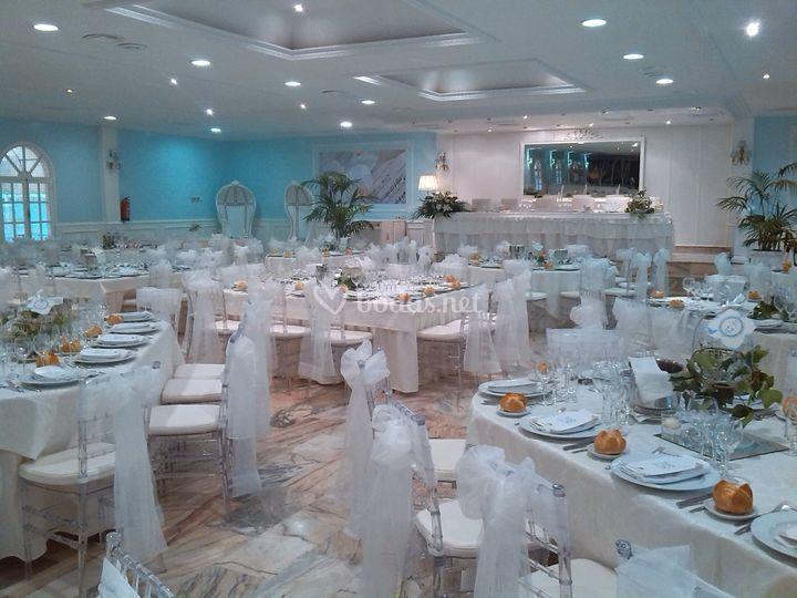 Salón Imperial Blanco