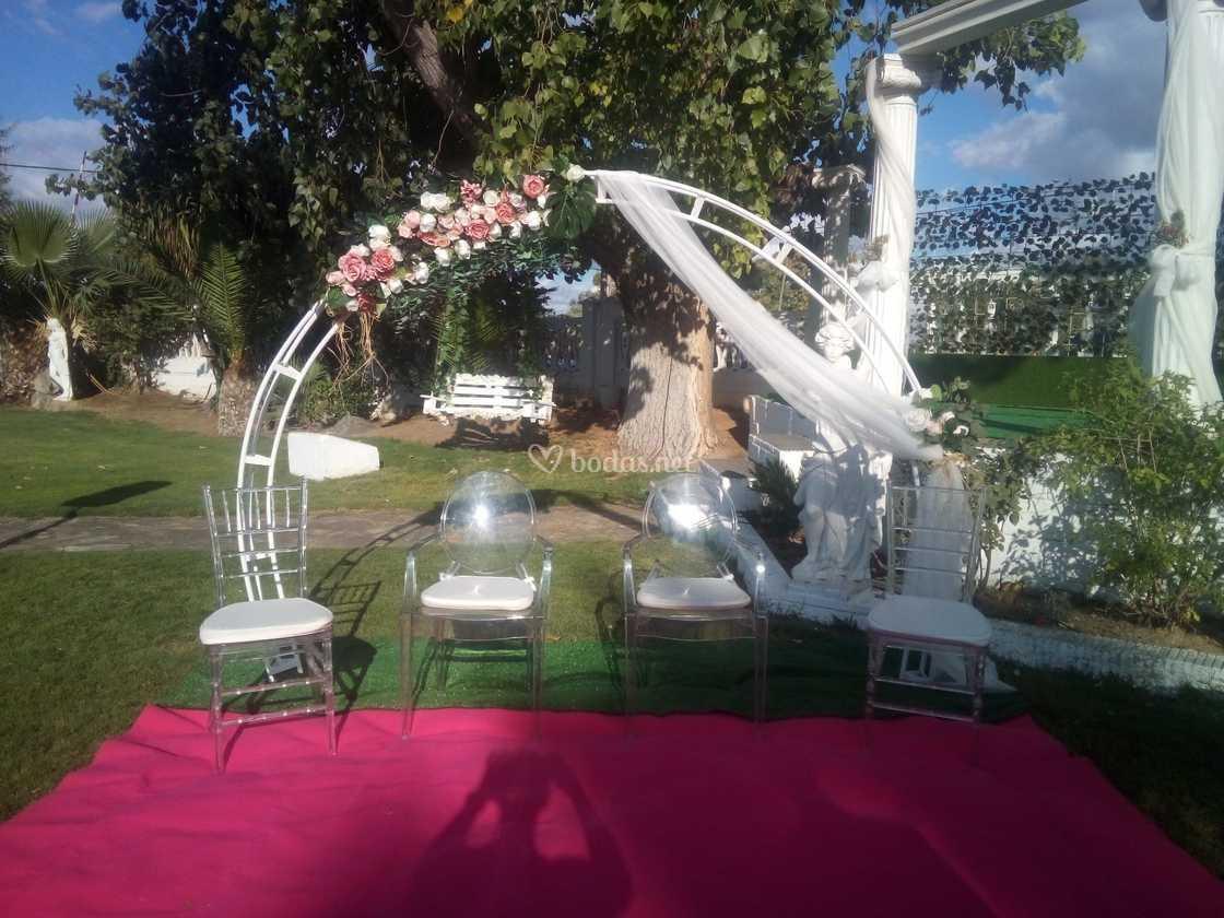 Arco ceremonia civil