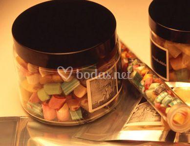 Presentación de los caramelos
