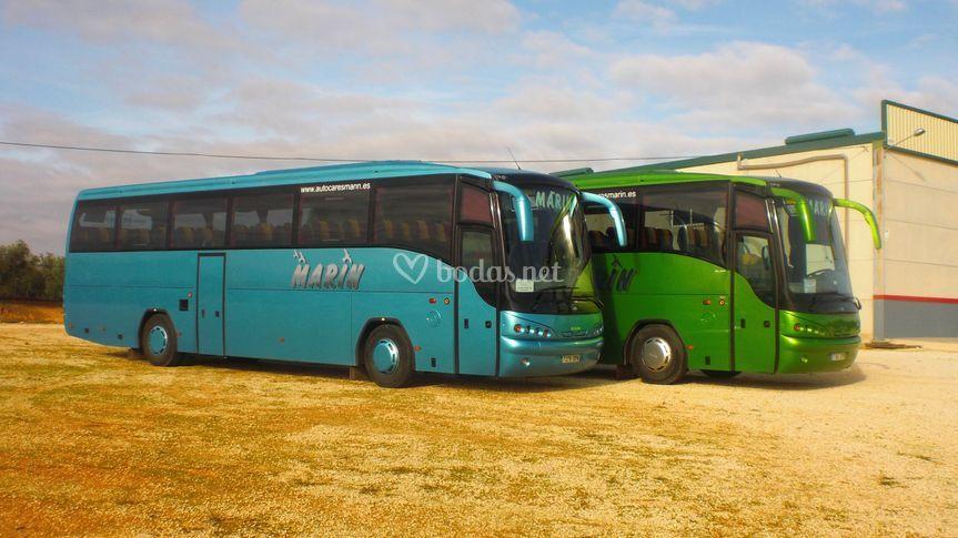 Bus de 55 plazas estándar