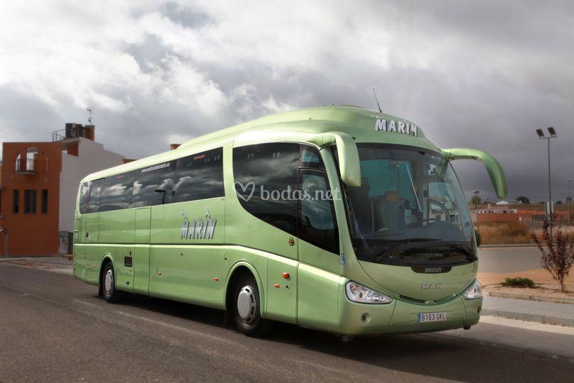 Bus de 54 plazas PMR