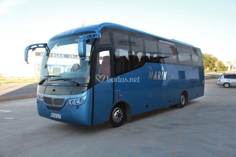 Bus de 33 plazas