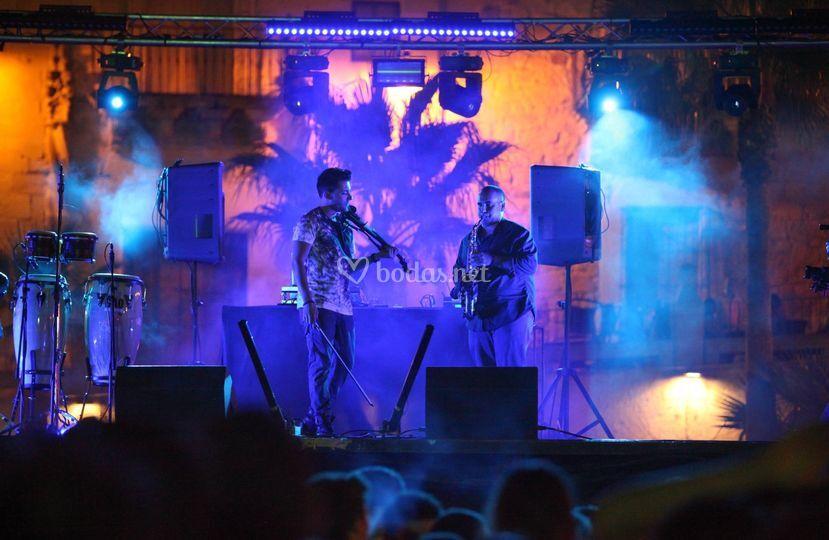 Show Iluminacón  y sonido