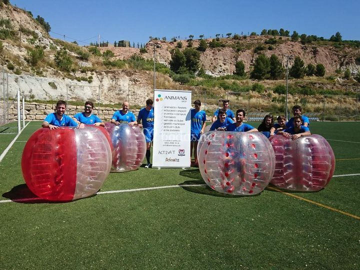 Las Bubble Football