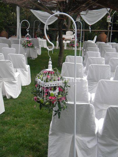 Pasillero boda civil