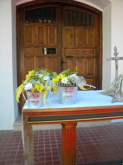 Mesa celebración ermita