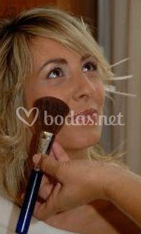 Un toque de maquillaje