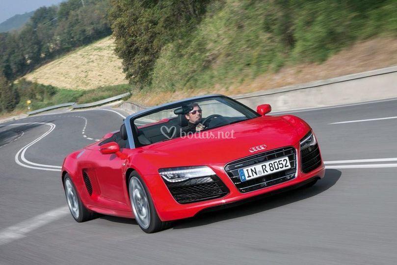 Audi R8 Spyder 430cv de Test Drive
