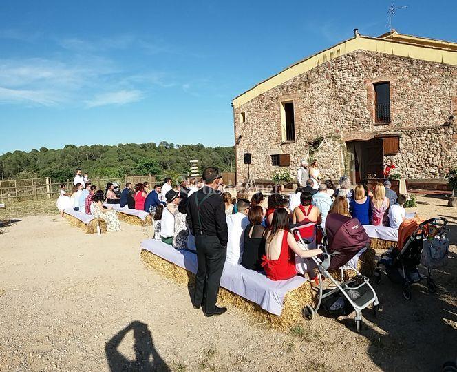 Ceremonia en Caldes de Montbuy