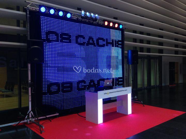Formato Premium Boda de Los Cachis - Disco móvil