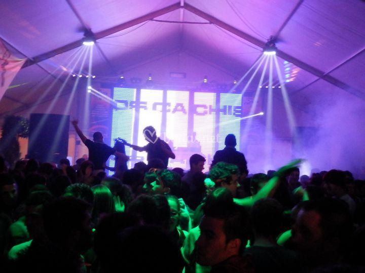 Macro fiesta en Carpa