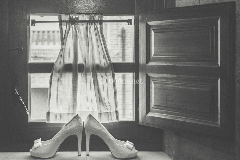 Bodegón. Los Zapatos